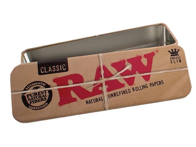 3182 - Κουτί Raw Roll Candy king Size μεταλλική θήκη για καπνό ή χαρτάκια