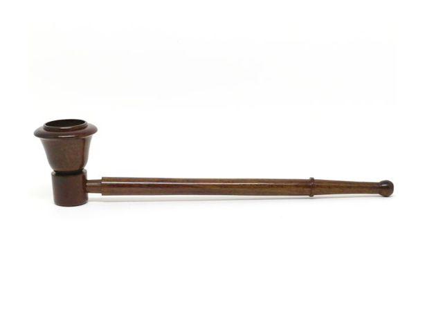 10569 - Ξύλινη πίπα με σήτα RK49 150mm καφέ