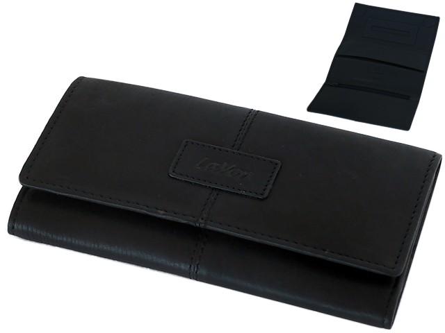 6178 - Lavor 1-3034 BLACK δερμάτινη καπνοθήκη