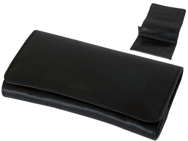 6149 - Lavor 1-31021 Black δερμάτινη καπνοθήκη