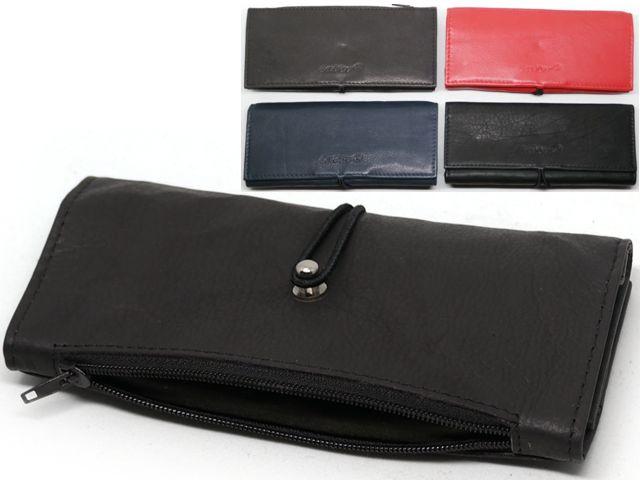 7665 - Lavor 1-999 (μαύρο κόκκινο καφέ μπλε) δερμάτινη καπνοθήκη