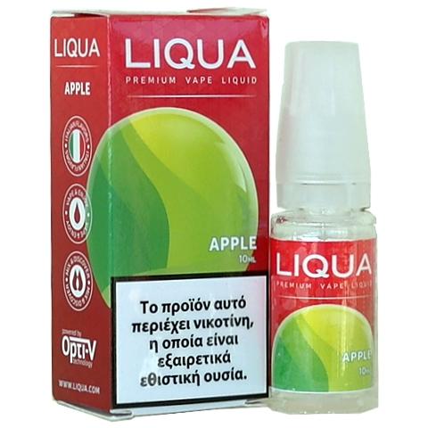 Liqua APPLE 10ml (πράσινο μήλο)