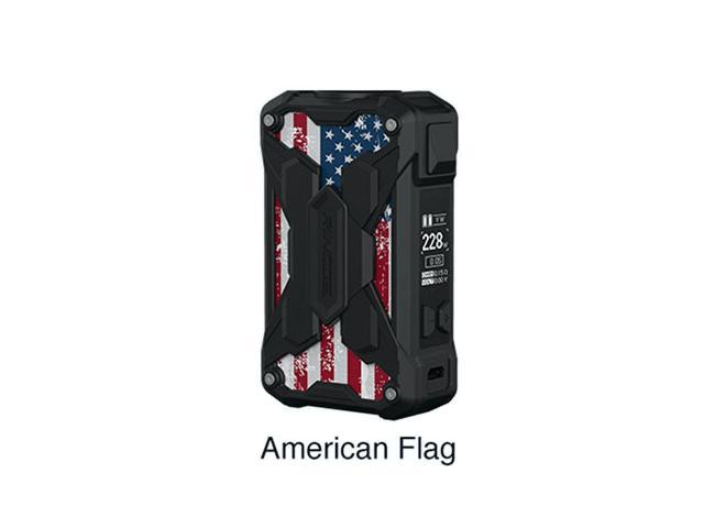 11241 - Mechman Lite 228W Mod AMERICAN FLAG (2*18650) by Rincoe