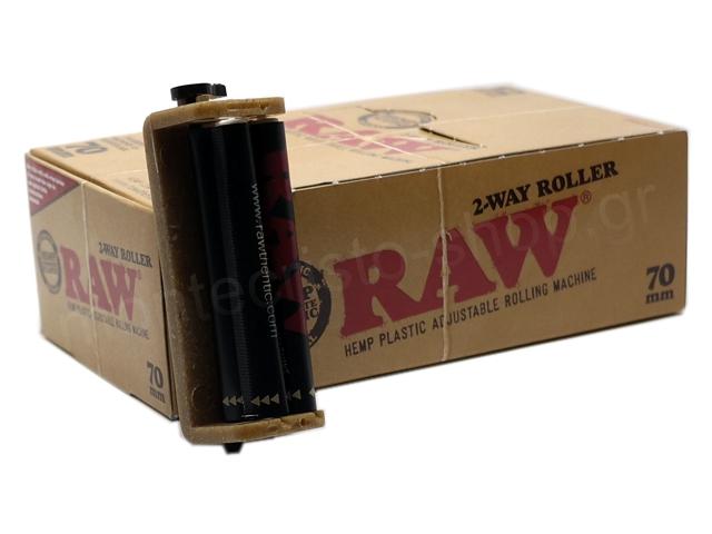 8892 - Μηχανή στριφτού RAW 2-WAY ROLLER (70mm) κουτί 12 τεμαχίων