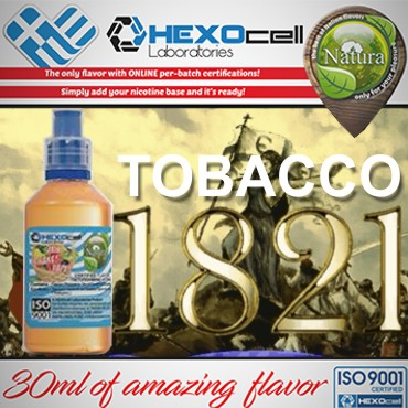 6021 - NATURA MIX SHAKE VAPE 1821 TOBACCO 30/60ML (καπνικό)