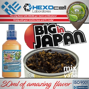 NATURA MIX SHAKE VAPE BIG IN JAPAN 30/60ML (γλυκό καπνικό)