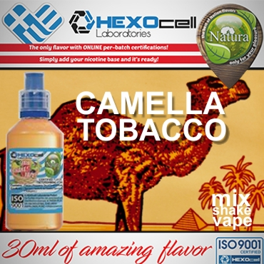 5628 - NATURA MIX SHAKE VAPE CAMELLA TOBACCO 30/60ML