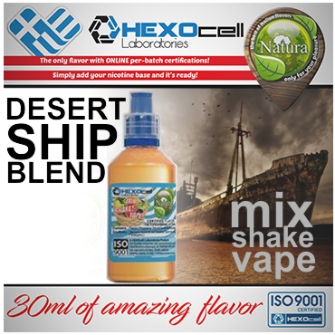 NATURA MIX SHAKE VAPE DESERT SHIP BLEND 30/60ML (καπνικό)