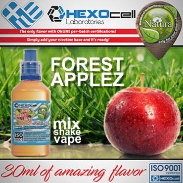 5434 - NATURA MIX SHAKE VAPE FOREST APPLEZ 30/60ML (φρούτα δάσους και μήλο)