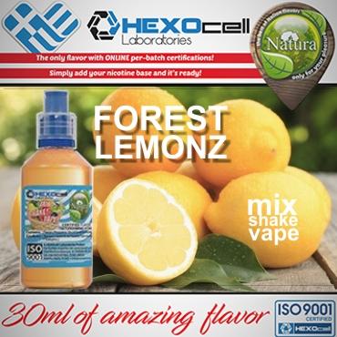 5435 - NATURA MIX SHAKE VAPE FOREST LEMONZ 30/60ML (φυσικός χυμός λεμονιού)