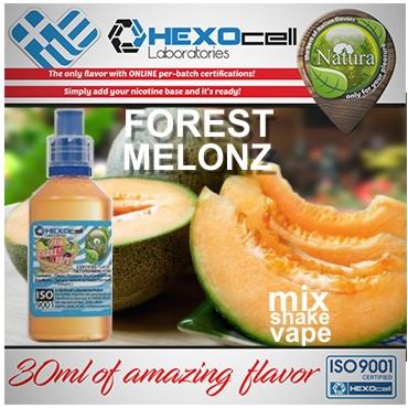 NATURA MIX SHAKE VAPE FOREST MELONZ 30/60ML (πεπόνι & φρούτα δάσους)