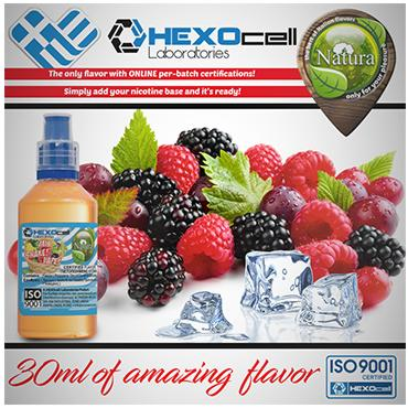 NATURA MIX SHAKE VAPE FROZEN FRUITS 30/100ML (φρούτα & μέντα)