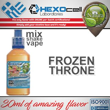 NATURA MIX SHAKE VAPE FROZEN THRONE 30/60ML (δυνατή μέντα)