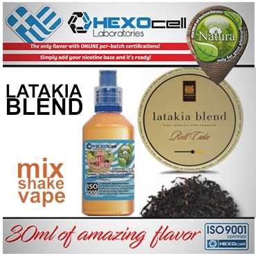 NATURA MIX SHAKE VAPE LATAKIA 30/60ML (καπνικό)