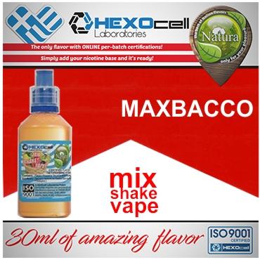 NATURA MIX SHAKE VAPE MAXBACCO 30/60ML (καπνικό)