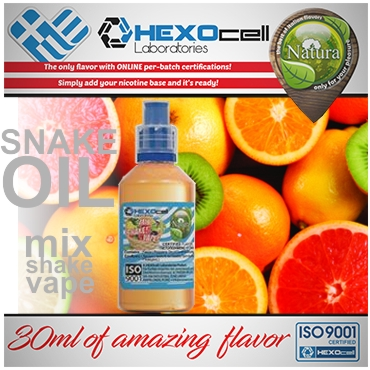 NATURA MIX SHAKE VAPE SNAKE OIL 30/60ML (φρούτα εσπεριδοειδή)