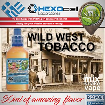 5861 - NATURA MIX SHAKE VAPE WILD WEST TOBACCO 30/60ML