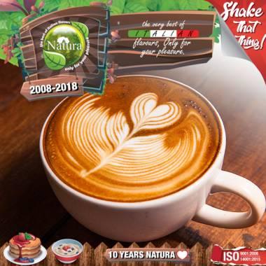 9736 - NATURA SHAKE AND TASTE COFFEE LATTE 100ml (καφές latte)