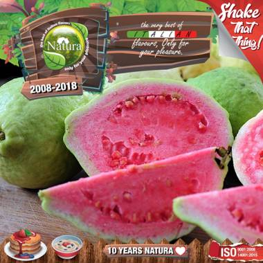9646 - NATURA SHAKE AND TASTE FOREST GUAVAZ 60/100ml (φρούτα του δάσους και γκουάβα)