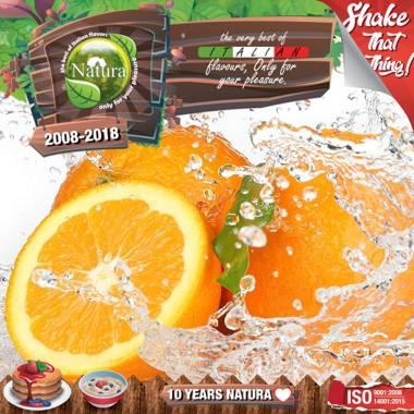 9648 - NATURA SHAKE AND TASTE FOREST ORANGE 60/100ml (φρούτα του δάσους και πορτοκάλι)
