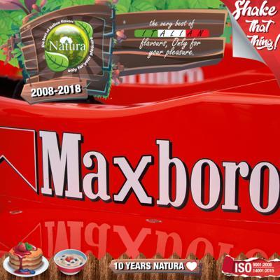 9229 - NATURA SHAKE AND TASTE MAXBORO 100ml (καπνικό)