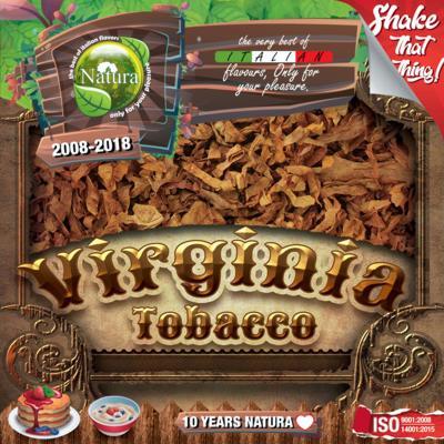 9230 - NATURA SHAKE AND TASTE VIRGINIA 100ml (καπνικό)