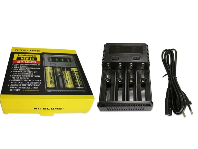 5682 - Φορτιστής New I4 Li-Ion/NiMH Battery 4-Slot Nitecore Intellicharger