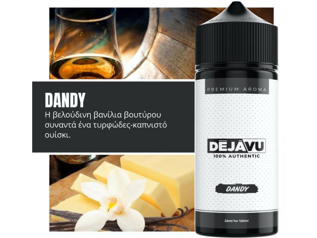 11608 - ΝΤΕΖΑΒΟΥ 100% AUTHENTIC Flavour Shot DANDY 25ml / 120ml (καπνιστό ουίσκι με βανίλια)