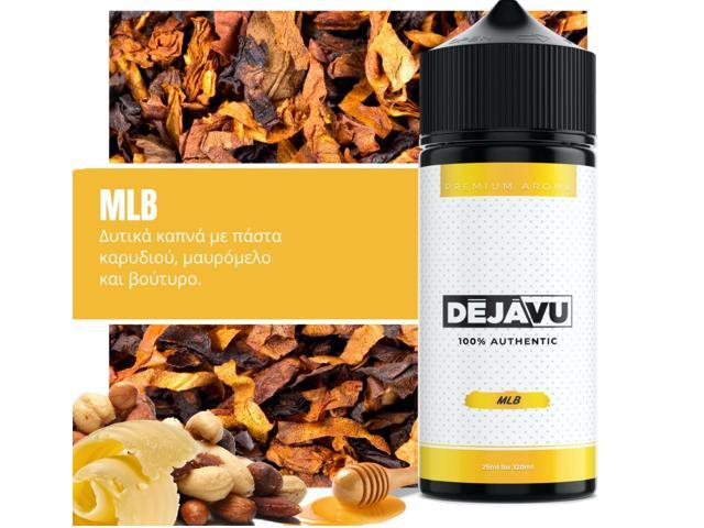 11475 - ΝΤΕΖΑΒΟΥ 100% AUTHENTIC Flavour Shot MLB 25ml / 120ml (καπνικό με καρύδι, μαυρόμελο και βούτυρο)