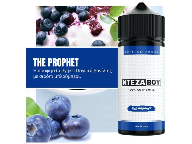 11309 - ΝΤΕΖΑΒΟΥ 100% AUTHENTIC Flavour Shot THE PROPHET 25ml / 120ml (παγωτό βανίλια με σιρόπι μύρτιλο)