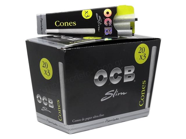 9362 - OCB CONES PREMIUM SLIM (κουτί των 20)
