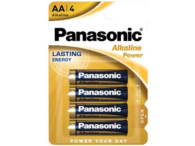 10826 - PANASONIC AA ΑΛΚΑΛΙΚΕΣ LR6 1.5V AM3 MN1500 (4 ΜΠΑΤΑΡΙΕΣ)