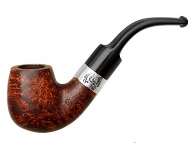 9045 - Peterson Aran 221 Ring Smooth πίπα καπνού κυρτή