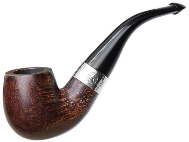 11305 - Peterson Aran 221 SMOOTH NICKEL MOUNTED P-LIP πίπα καπνού