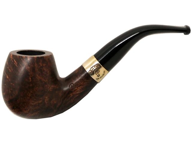 6922 - Peterson Aran 68 Ring Smooth πίπα καπνού κυρτή