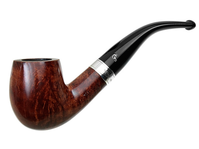 9050 - Peterson Aran 69 Ring Smooth πίπα καπνού κυρτή
