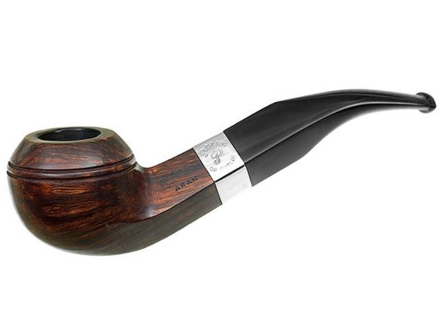 9052 - Peterson Aran 80S Ring Smooth πίπα καπνού κυρτή