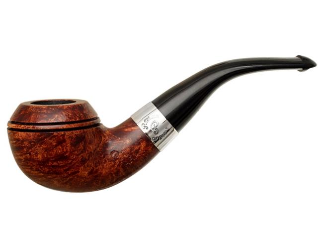 9051 - Peterson Aran 999 Ring Smooth πίπα καπνού κυρτή