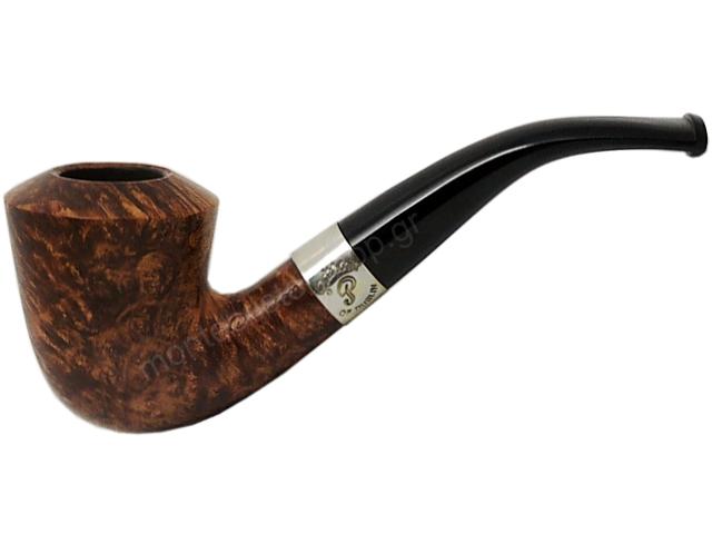 9041 - Peterson Aran B10 Ring Smooth πίπα καπνού κυρτή