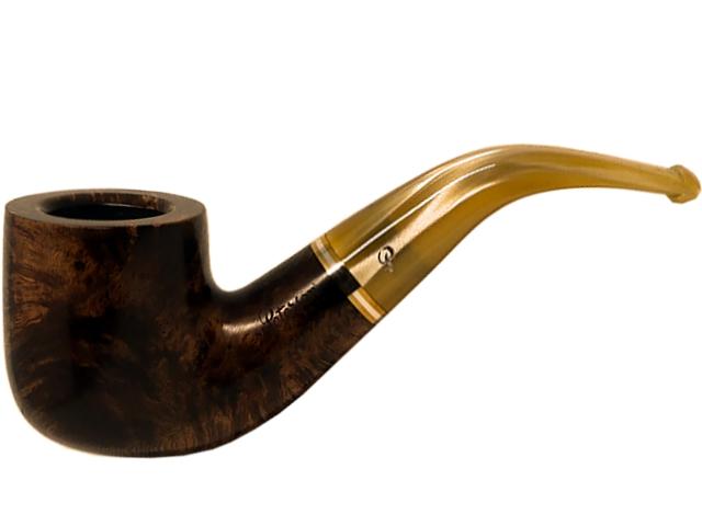 9775 - Peterson Kerry 01 Fishtail πίπα καπνού κυρτή