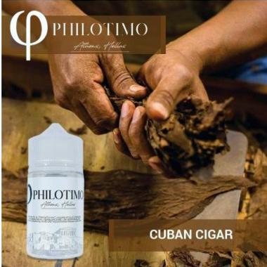 10732 - PHILOTIMO CUBAN CIGAR 30/75ml (ΚΟΥΒΑΝΕΖΙΚΟ ΠΟΥΡΟ ΜΕ ΒΑΝΙΛΙΑ)