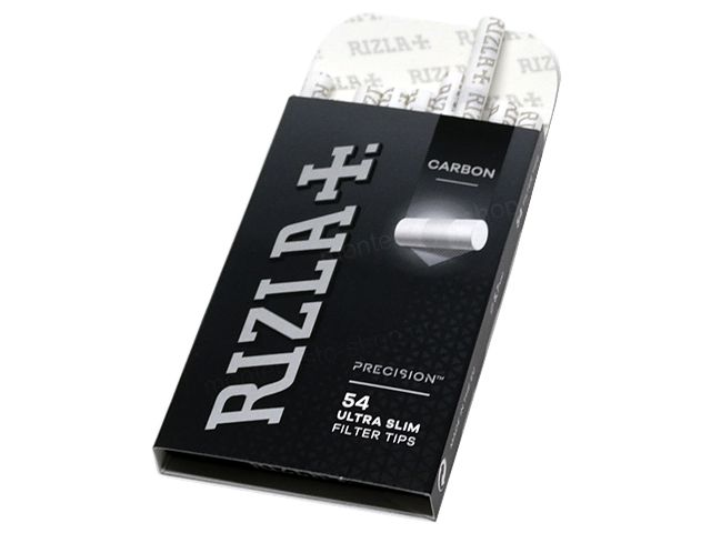 10760 - Φιλτράκια ενεργού άνθρακα Rizla carbon Precision 54 Ultra Slim 5.7mm