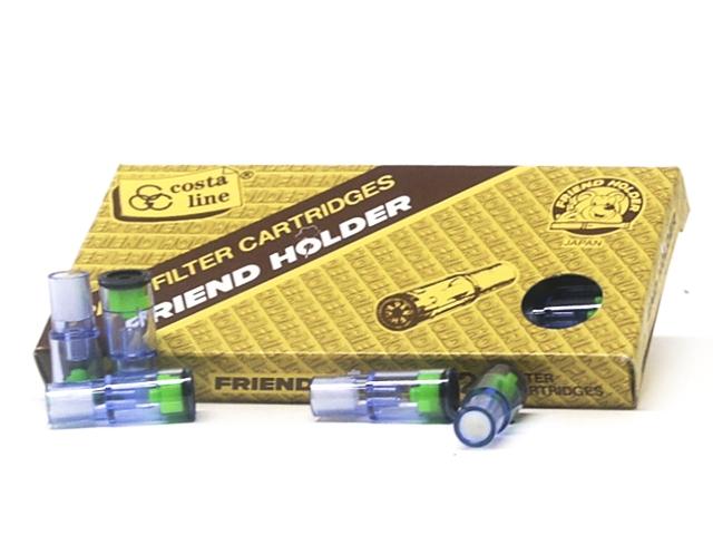 Φιλτράκια ανταλλακτικά για πίπα τσιγάρου Friend Holder (Made in Japan) 20 τεμάχια φίλτρα πίπας