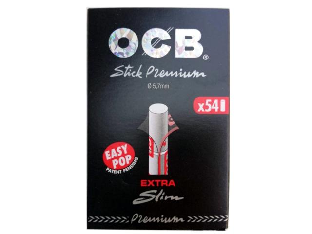 9390 - Φιλτράκια OCB STICK PREMIUM 5.7mm EXTRA SLIM 54