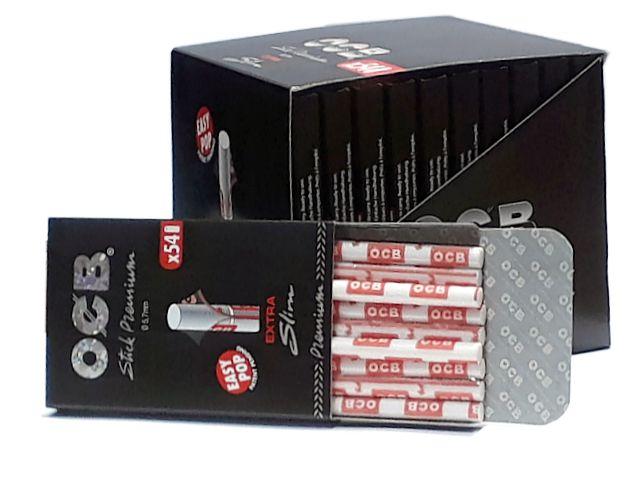9391 - Φιλτράκια OCB STICK PREMIUM 5.7mm EXTRA SLIM 54 (κουτί των 20)