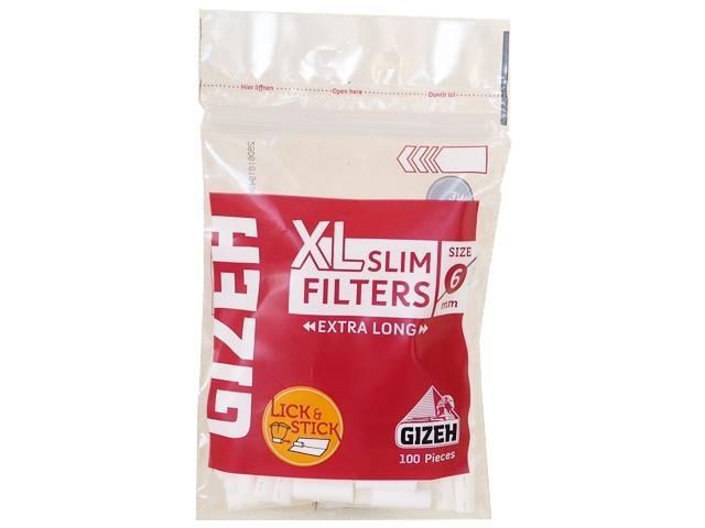 4421 - Φιλτράκια στριφτού Gizeh Slim Filters XL GIF038