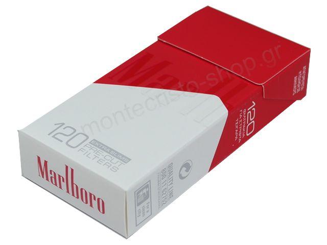Φιλτράκια στριφτού Marlboro Extra Slim 120 pre-cut