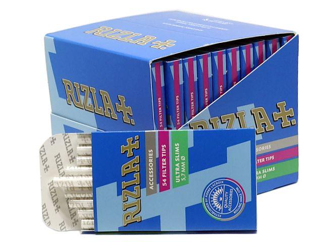 10478 - Φιλτράκια στριφτού Rizla 54 Ultra Slim 5.7mm (κουτί των 20)