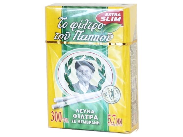 4260 - Φίλτρο του παππού extra slim 5.7mm σε μεμβράνη με 300 τεμάχια 47630