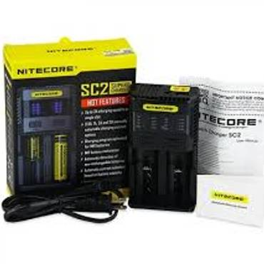 6122 - Φορτιστής Nitecore SC2 Superb Charger